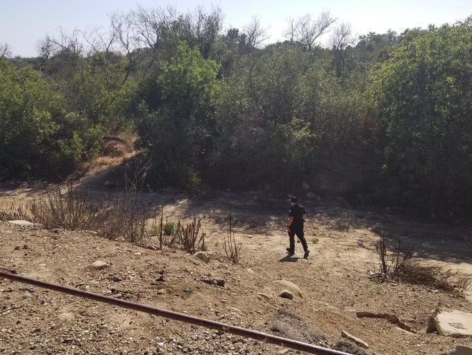 Ventura police were investigating a body found in the