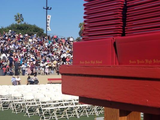 Santa Paula HS graduation