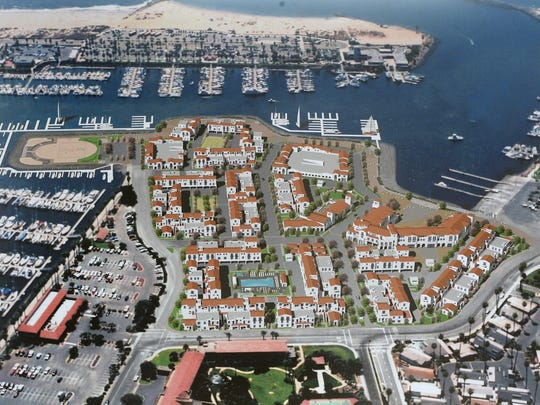 This is a rendering of Portside Ventura Harbor.