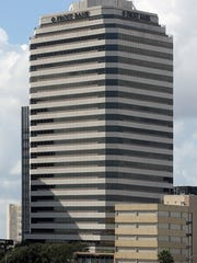 The Frost Building in Corpus Christi's Uptown is one of many buildings Joe R. Fulton built in Corpus Christi. The longtime contractor and engineer died Thursday morning.