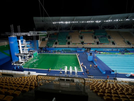 2016 summer olympics thread page 3 for Pool show usa