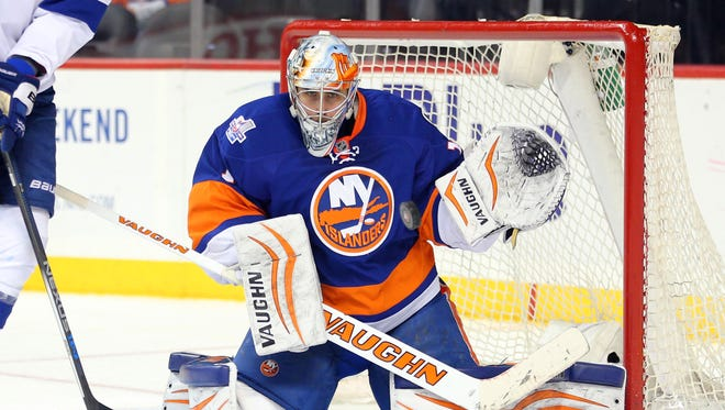 New York Islanders goalie Thomas Greiss has a .944 save percentage in the Stanley Cup Playoffs.