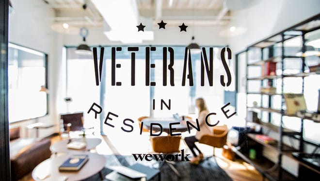 WeWork is launching a Veterans in Residence program in 10 cities aimed at helping service vets start new companies.