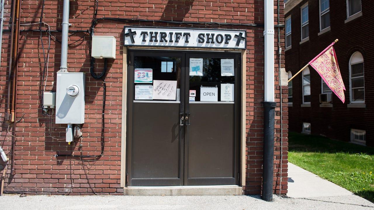 Watch: A look inside St. Vincent's Thrift Shop