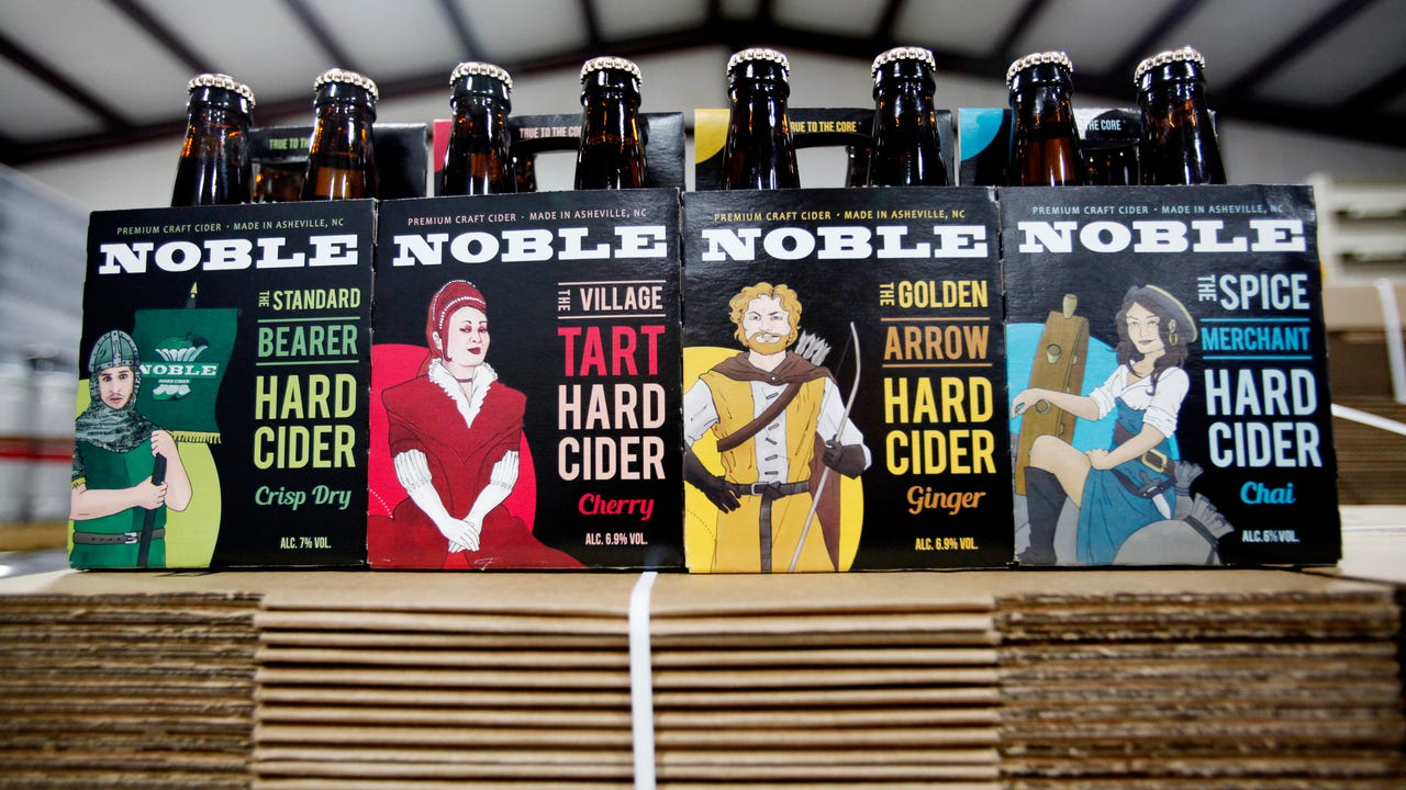 Noble Cider celebrates the release of four cider varieties in 12-ounce bottle four-packs.