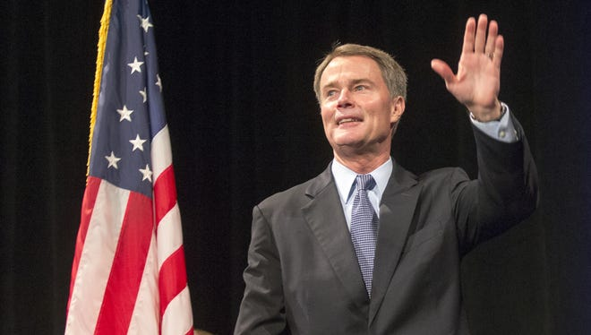 Joe Hogsett, the mayor-elect of Indianapolis (seen at a Democratic election night event at Union Station on Nov. 3, 2015) would make a base salary of $125,000 next year if the City-County Council passes a proposed pay raise.