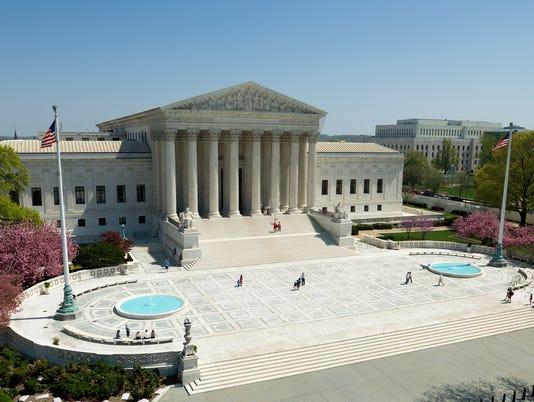 U.S. Supreme Court plaza