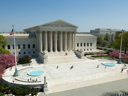 U.S. Supreme Court plaza