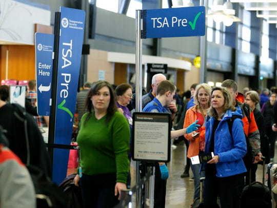 Travelers authorized to use the Transportation Security