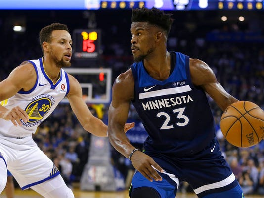 Stephen Curry, Jimmy Butler