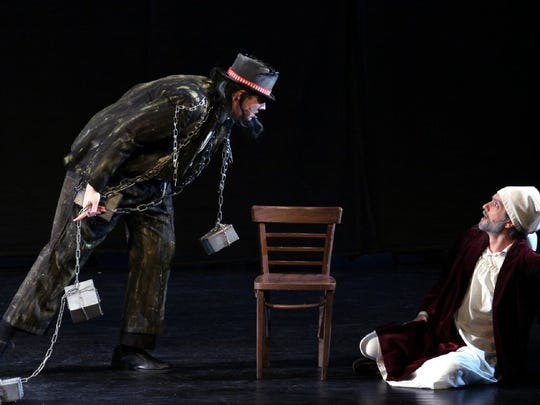 """""""A Christmas Carol"""" holiday show will be performed at Bergen Performing Arts Center on Dec. 15 and 16."""