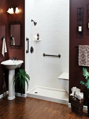 Benefits of a bathroom remodel include safety, functionality and beauty.