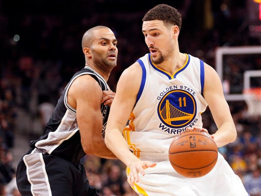 Tony Parker Klay Thompson