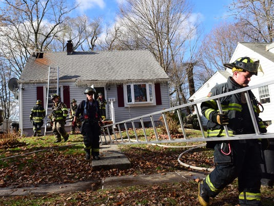 2nd Alarm Fire in Pompton Lakes