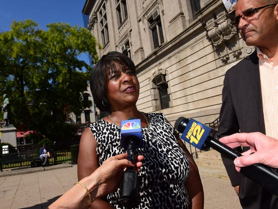 Paterson City Council President Ruby Cotton says the