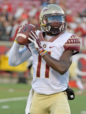 John Franklin III (11) has been closely studying Marcus Mariota to demonstrate his tendencies for Florida State.