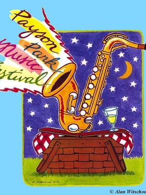 Payson Park Music Festival logo.