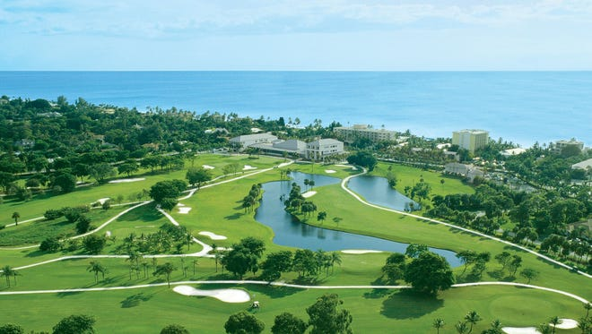 A view from above: The Naples Beach Hotel & Golf Club