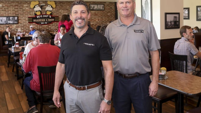 Left to right; TooJay's CEO Max Piet, and Senior Vice President Alan Nuckles.