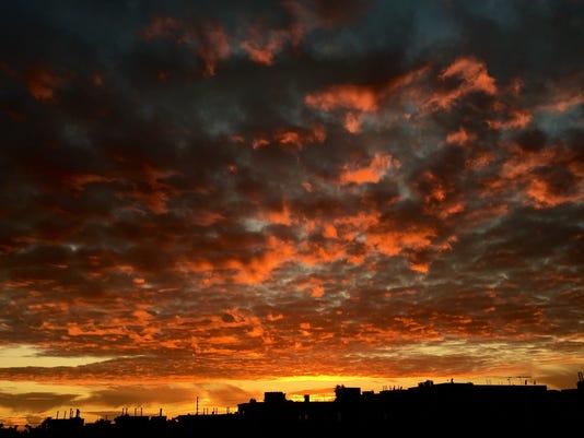 Sunset in Sun City