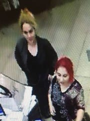 Police are looking for these two women in connection with a distraction scam at a Burlington Store in Evesham.