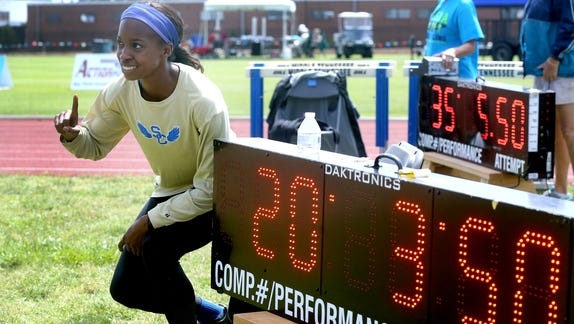 Shelbyville's Kethlin Campbell named Gatorade Girls Track Athlete of Year