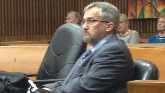 Rev. Timothy Kane during his jury  trial Thursday, Oct. 2, 2014, in Wayne County Circuit Court.