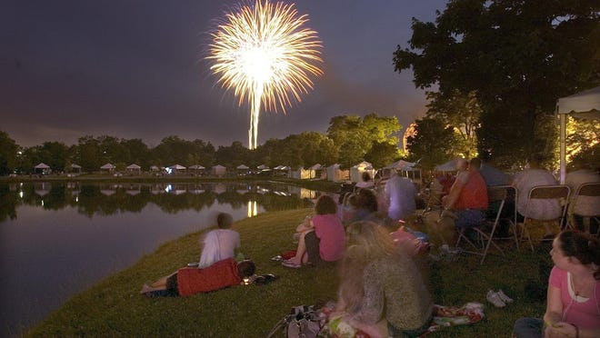 Fireworks will again close out Liberty Fest.