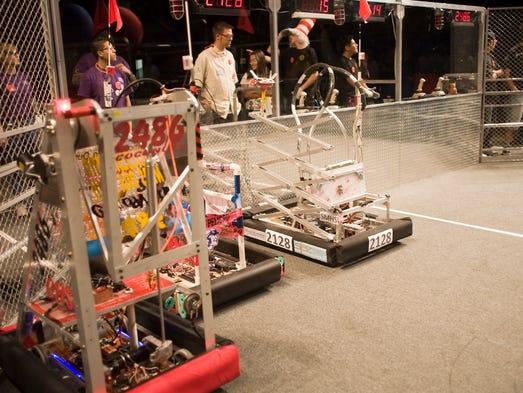Don't miss the FIRST Robotics Competition Demo 3 p.m.-3:30 p.m. Thursday, June 5.