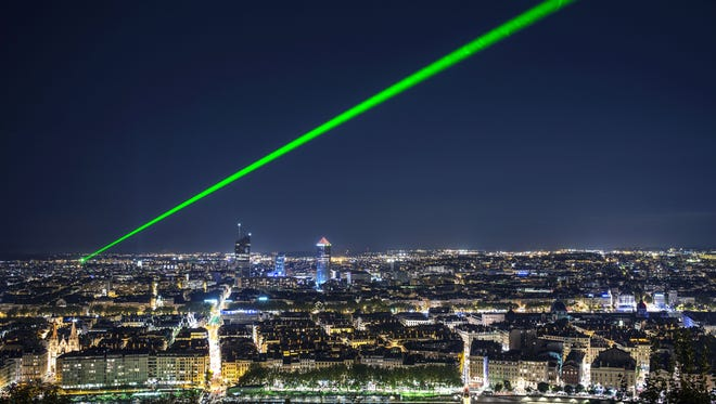 A Terry man could face up to five years in prison for pointing a laser at an aircraft.