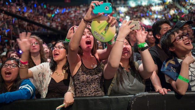 Scenes from KCON 2015 at Prudential Center.