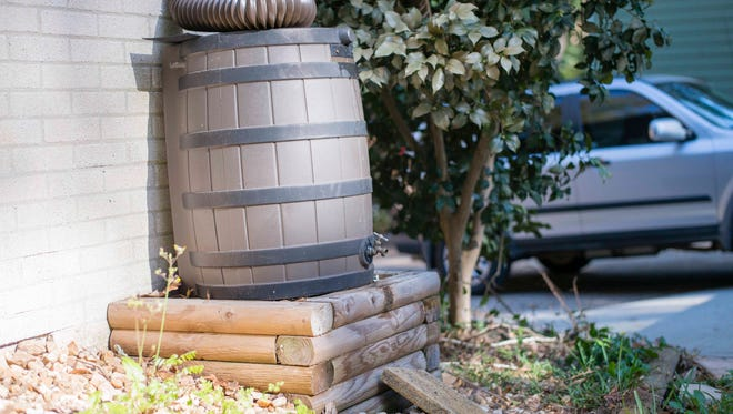 Rain barrels can be used to capture rainwater and store it for later, reducing runoff and pollution.