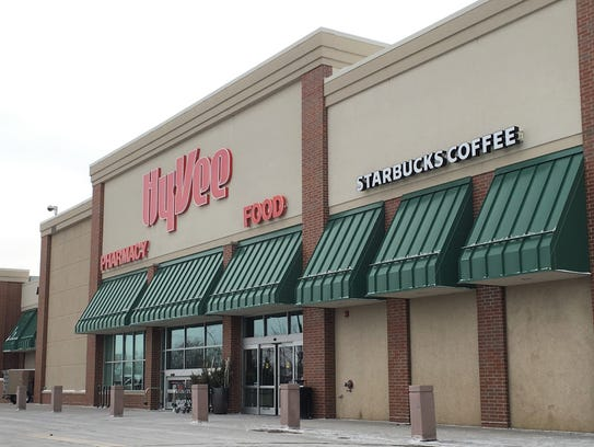 The Hy-Vee located at the corner of 26th Street and