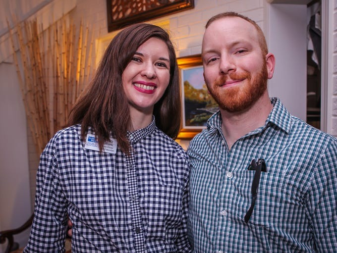 Brittany & Nick Satinover at the 2018 Red, White and