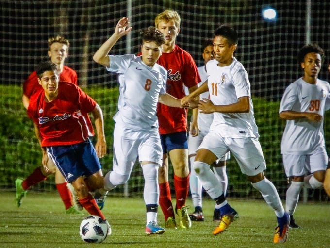 Region 4-AAA soccer semifinals, Franklin County at