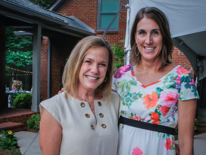 Ann Henslee and Beth Loughry at Charity Circle of Murfreesboro's