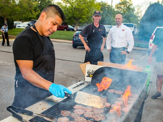 Battle of the Burger 2018: Santos Garcia with Sam's Sports Bar and Grill.