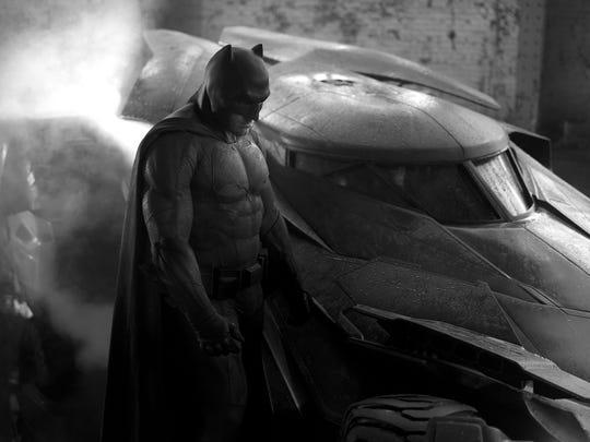 """Ben Affleck stars as the Dark Knight in """"Batman v Superman:"""