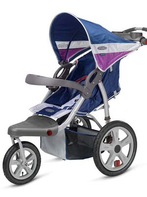Pacific Cycle is recalling more than 217,000 jogging strollers because of a defective front wheel.