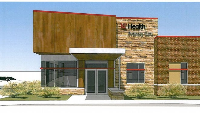 A rendering of the new primary care office opening in Trenton.