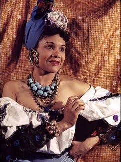 American dancer, choreographer, songwriter, author, educator, and activist Katherine Dunham (June 22, 1909 - May 21, 2006).