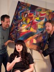 From left, Scott Dawson, Katie Davis and Chris Manly