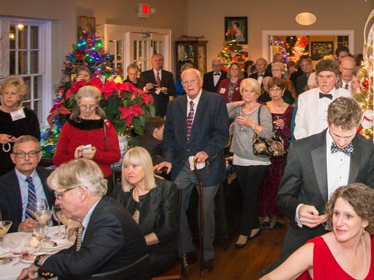 A black-tie gala held at The Monte Vista Hotel on Dec. 1 kicked off the 2016 Deck the Trees, which raised over $12,000 for Swannanoa Valley Christian Ministry.