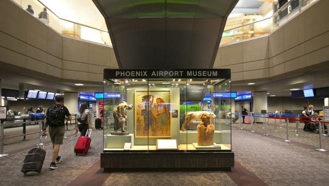 """The city of Phoenix and Sky Harbor Airport officials are reaching out to surrounding communities about employment opportunities at the airport as part of President Barack Obama's """"My Brother's Keeper"""" initiative."""