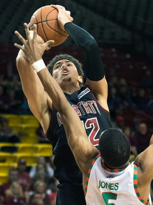Eli Chuha and New Mexico State begin the Western Athletic Conference Tournament Thursday against Chicago State in Las Vegas, Nevada.