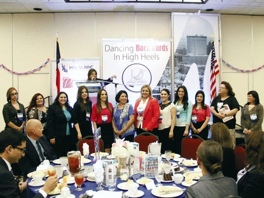 Times file photo Several businesswoman were honored at last year's El Paso Hispanic Chamber of Commerce banquet. This year's banquet will be on Thursday.