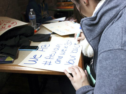 """Aevidum, a mental-health awareness program that uses the tagline """"I've got your back,"""" has been implemented in eight York County school districts so far."""