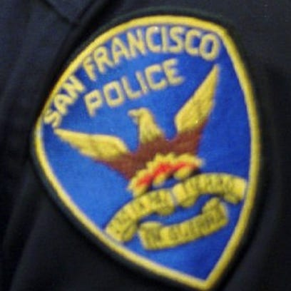 A San Francisco Police Department chase ended in a fiery crash.