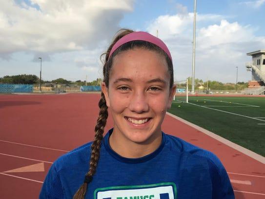 Texas A&M-Corpus Christi goalkeeper Kyleigh Hall