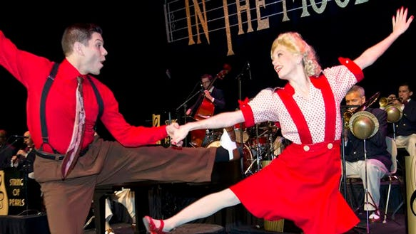This 1940's Big Band Musical Revue, is a celebration